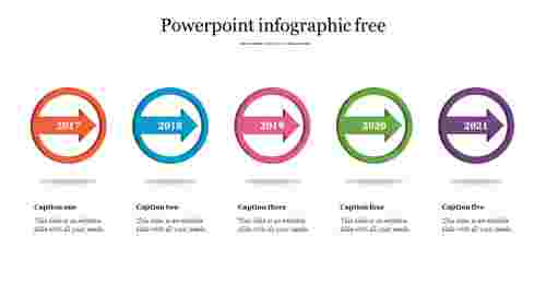 Circle powerpoint Infographic Presentation