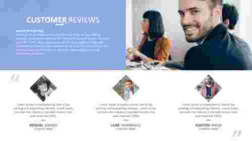 write a business review