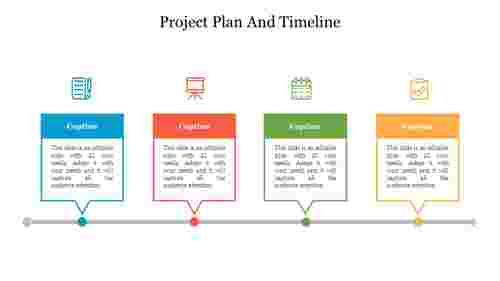 Editable%20project%20plan%20and%20timeline%20PPT%20Presentation