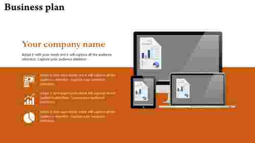 Business Pitch Powerpoint Template - Technology based