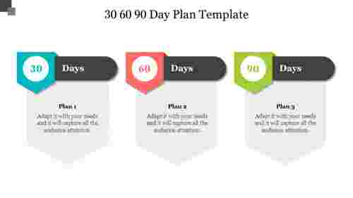 306090dayplantemplateforpresentationdesign