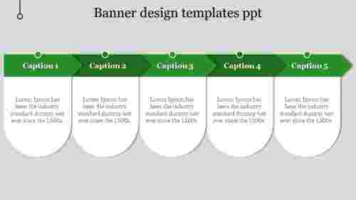 banner design templates ppt-5-Green