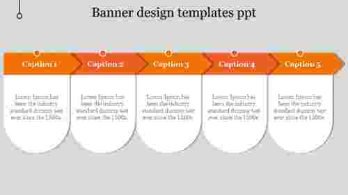 banner design templates ppt-5-Orange