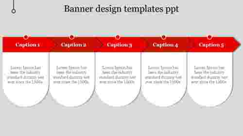 banner design templates ppt-5-Red