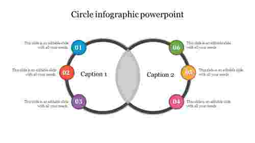 Venn Diagram Circle Infographic Powerpoint