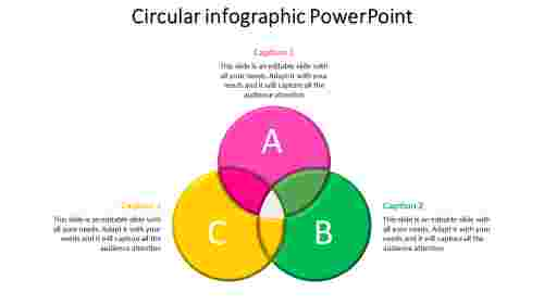 IntersectionofCircleInfographicPowerPoint