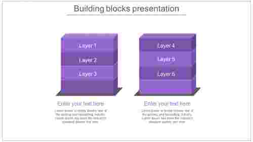 building blocks presentation stack model
