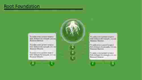 growing tree powerpoint template