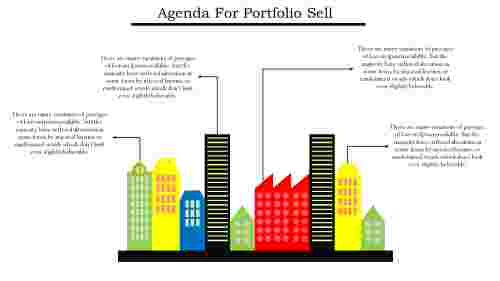 Building Agenda Slide Template PowerPoint