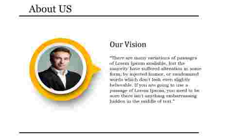 vision PPT presentation