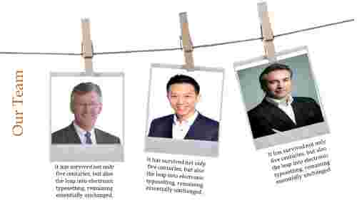 Portfolio team meeting presentation template