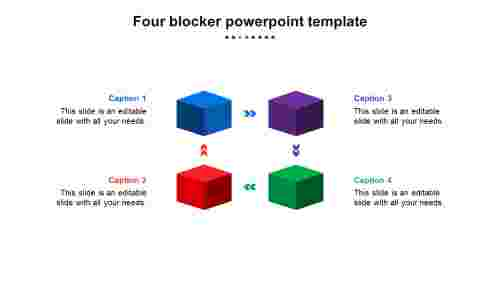 FourblockPowerpointtemplatepresentation