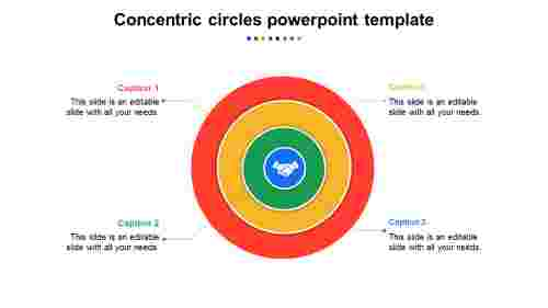 Multilayeredconcentriccirclespowerpointtemplate
