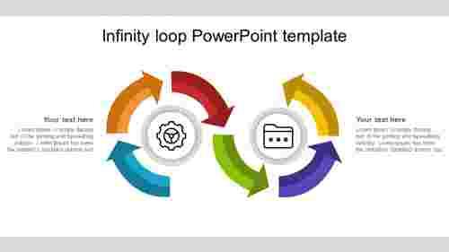 infinitylooppowerpointtemplatearrowmodel