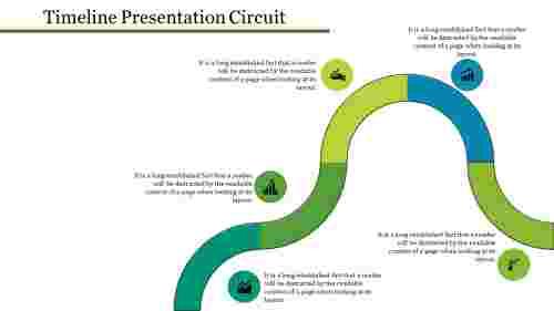 inferential timeline presentation powerpoint