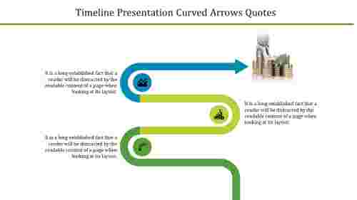 patterned timeline presentation powerpoint