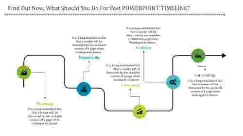 predictive timeline powerpoint design