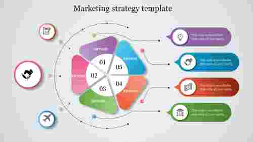 BestMarketingStrategyTemplatePowerPointSlideForBusiness