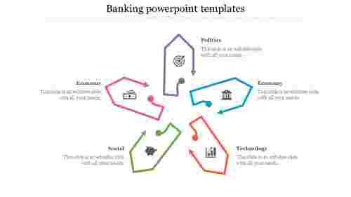 bankingPowerPointtemplates-Arrowtype