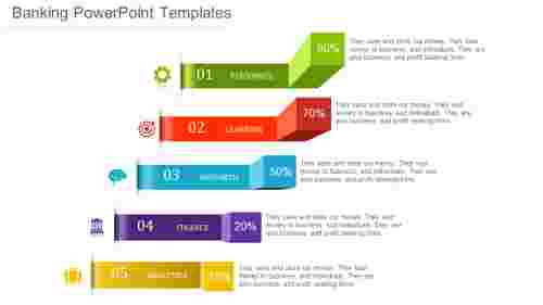 Infographics banking powerpoint templates