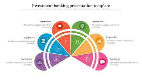 Semi circle investment banking presentation template