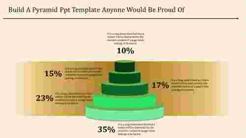 Multi-Step Pyramid PowerPoint Template