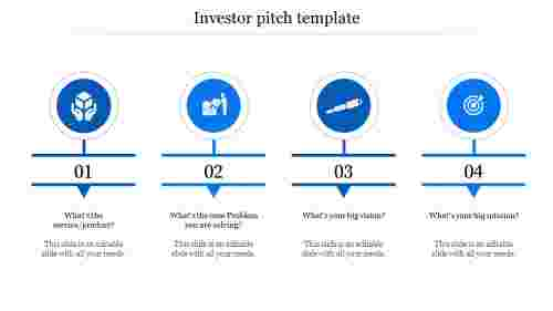 investor pitch template-4-Blue
