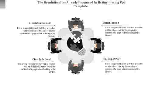 brainstormingPPTtemplate