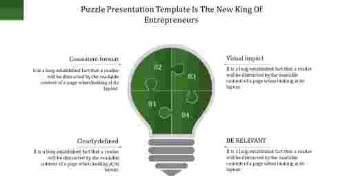 puzzle presentation template