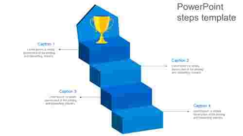 Achievementpowerpointstepstemplate