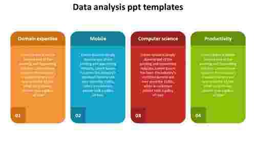 dataanalysisPPTtemplatestextboxmodel