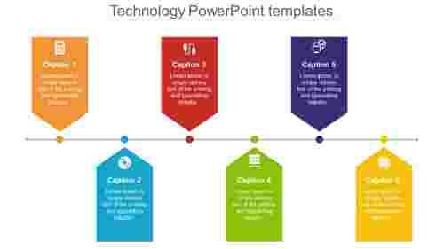 technologypowerpointtemplates-chevronmodel