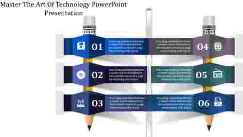 Pencil Design Technology Powerpoint Presentation