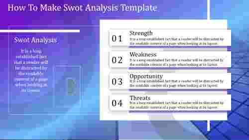 Cool swot analysis template