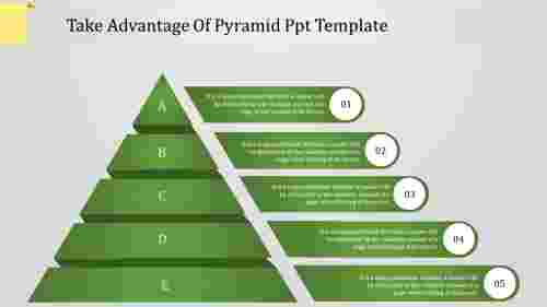 Executive pyramid powerpoint template