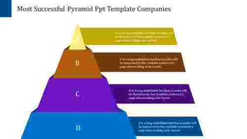 Management Pyramid PowerPoint Template