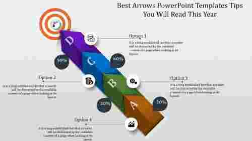 Targetarrowspowerpointtemplates
