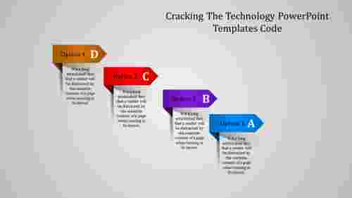 Technology powerpoint templates with Mixed Shape