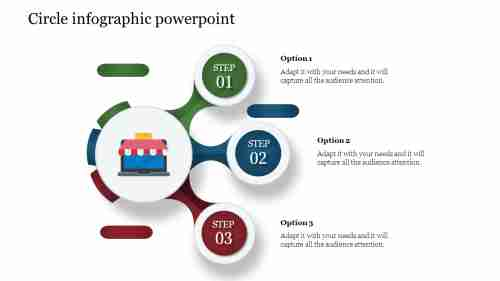 Circle Infographic Powerpoint template