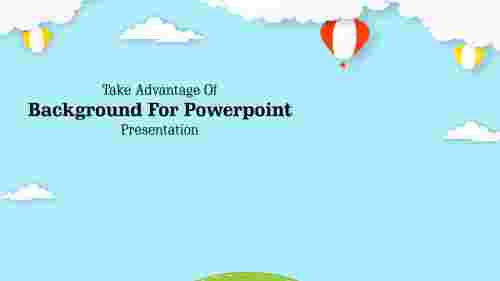 Background for powerpoint presentation-Cloud Design
