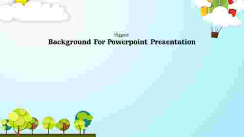 Background for powerpoint presentation-Tree Design