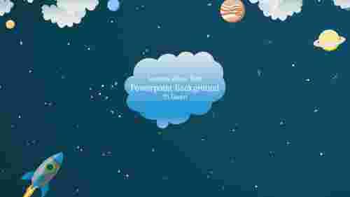 SpaceModelbestpowerpointbackground