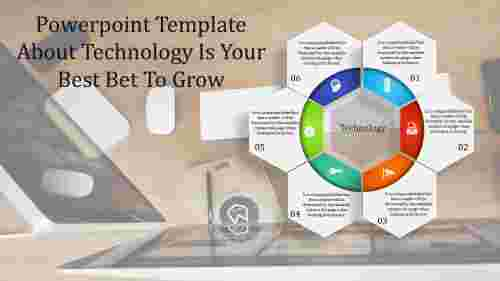 powerpoint template about technology