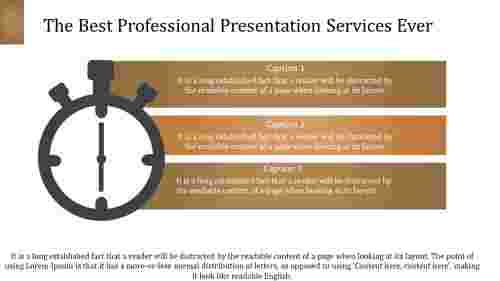 professional presentation services