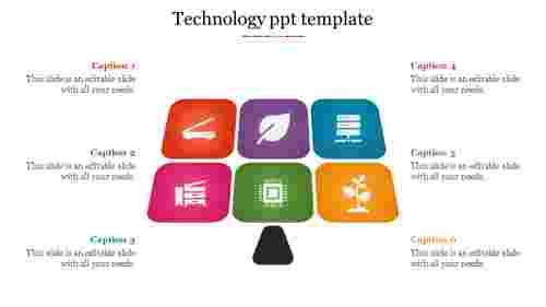 Ecosystem technology PPT template