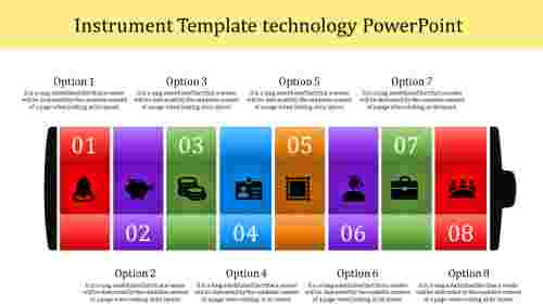template technology powerpoint-Instrument Template technology powerpoint