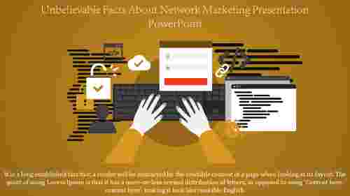 Network Marketing Presentation Powerpoint Slide Template