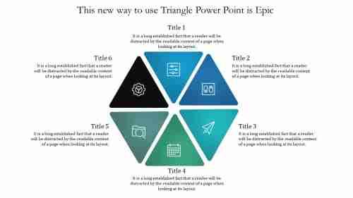LearnFromTrianglePowerPointTemplate