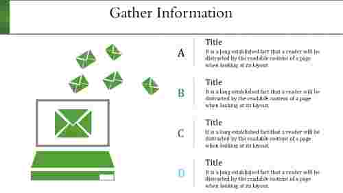 information technology powerpoint templates-Gather Information