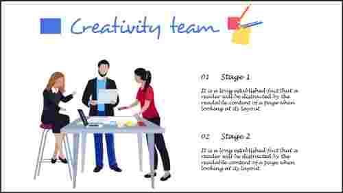 Creativepowerpointtemplateswithclipartdesign